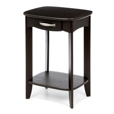 Athena Traditional End Table by Alcott Hill