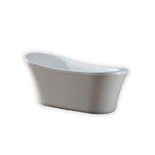 "Ruby 29.13"" x 65"" Freestanding Soaking Bathtub"