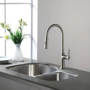 29 38 X 19 5 Double Basin Undermount Kitchen Sink