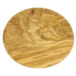 Round Olive Wood Chopping Board