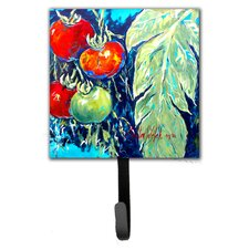 Tomato Tomaeto-Tomaato Leash Holder and Wall Hook by Caroline's Treasures