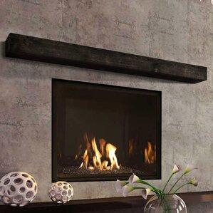 Black Fireplace Mantels Youll Love Wayfair
