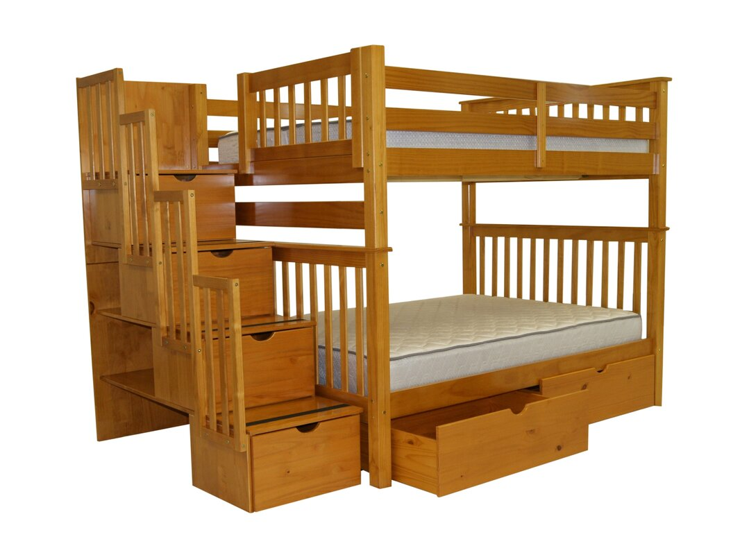 default_name - Bed Frame With Drawers Full