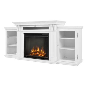 Calie 67 TV Stand with Fireplace by Real Flame