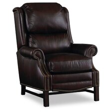 Alta High Leg Leather Recliner by Bradington-Young