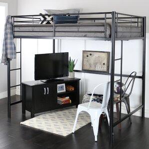 maurice loft bed - Loft Bed Frame Queen