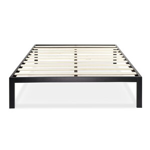 queen bed frames youll love wayfair - Frame For Bed