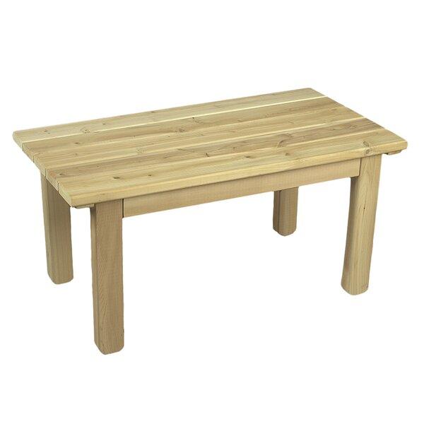 Rustic Cedar Cedar English Garden Table U0026 Reviews   Wayfair