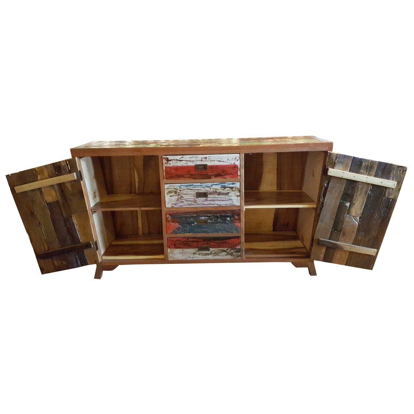 Teak Wood Buffet ~ Loon peak barnes teak wood sideboard wayfair