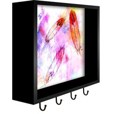 Feathers Wall Mounted Coat Rack by PTM