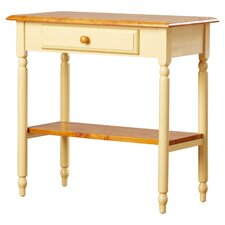 Embrey Country Cottage Foyer Table by Charlton Home