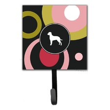 Curly Coated Retriever Leash Holder and Wall Hook by Caroline's Treasures