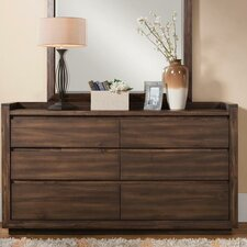 Worden 6 Drawer Dresser by Loon Peak