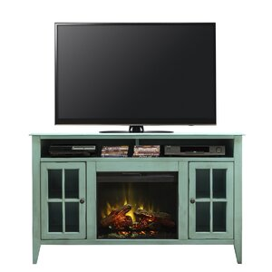 Bess 60 TV Stand with Fireplace by August Grove