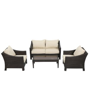 4-Piece Walter Patio Seating Group