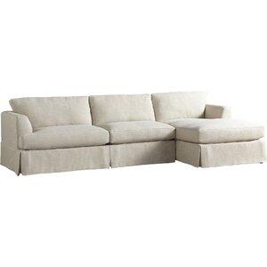 Warner Sectional by AllModern Custom Upholstery