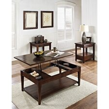 Riverside 3 Piece Coffee Table Set by World Menagerie