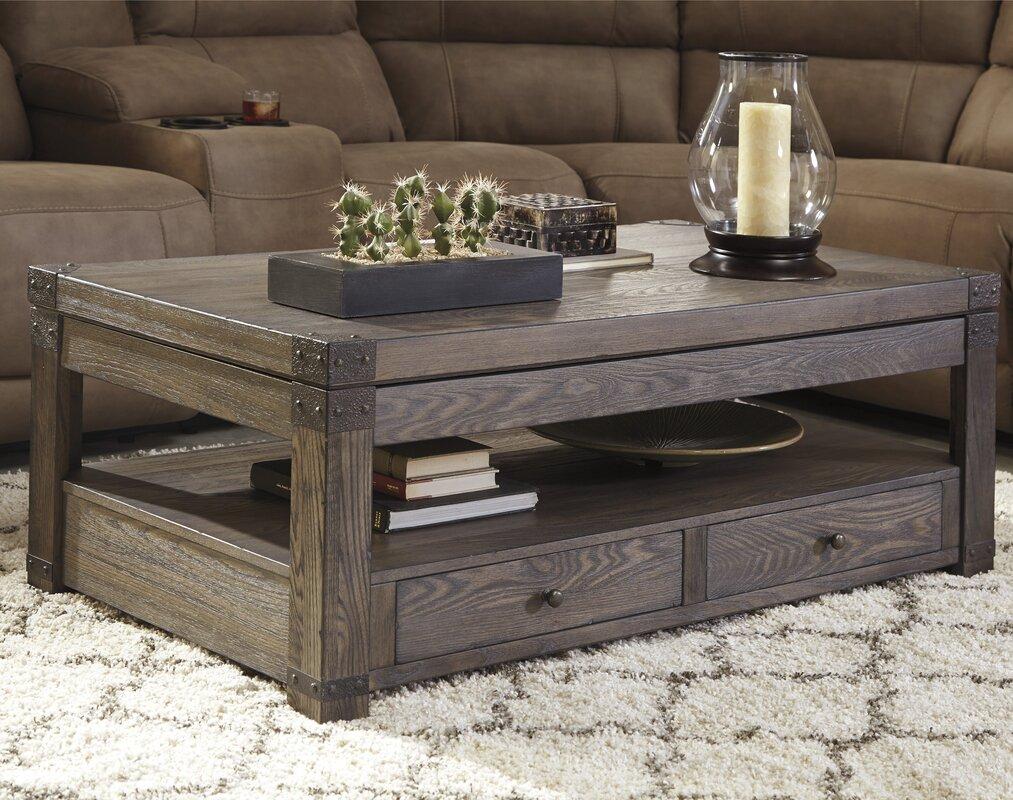 rectangle coffee tables - coffee tables | wayfair