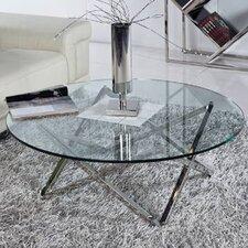 Yemanja Glass Coffee Table by Orren Ellis