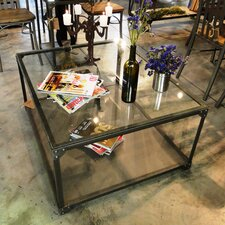 Industrial Square Center Coffee Table by REZ Furniture