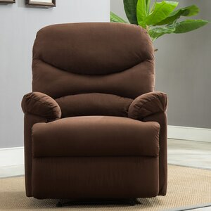 Microfiber Manual Lift Assist Recliner