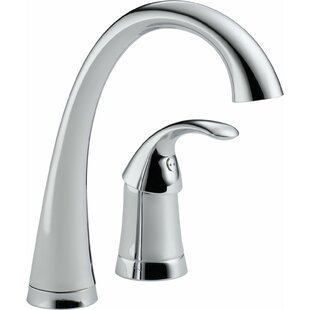 Delta Pilar Single Handle Bar Faucet with Diamond Seal Technology