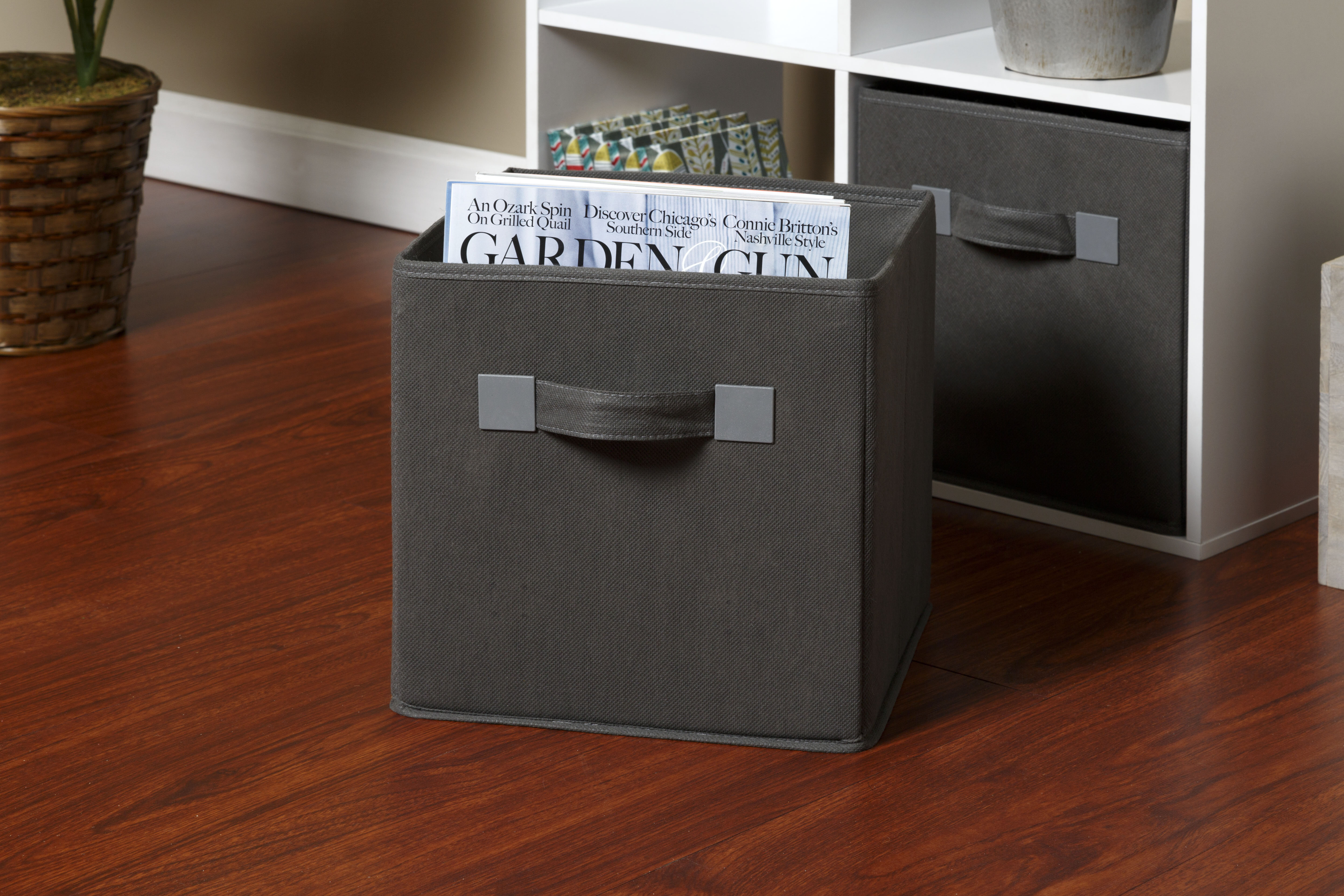 OneSpace Foldable Cloth Storage Cube U0026 Reviews | Wayfair