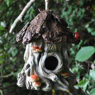 Ladybug Tree Hanging Bird House Image