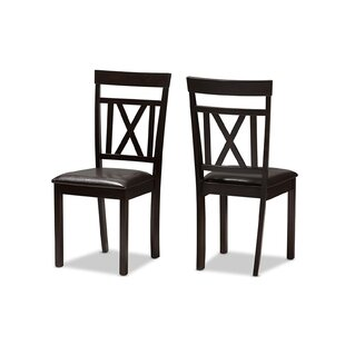Guynn Dining Chair (Set of 2) by Charlton..