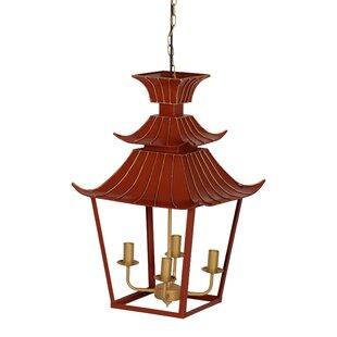 World Menagerie Rey 4-Light Lantern Pendant