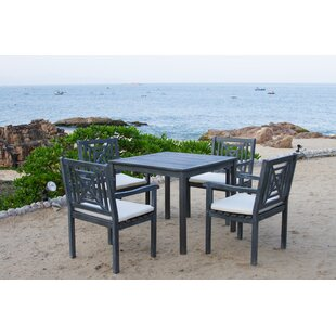Radnor 5 Piece Dining Set with Cushion by..