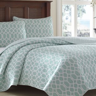 Catalina Trellis Quilt Set by Tommy Bahama Bedding