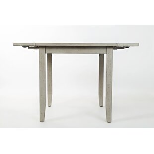Leigh Extendable Dining Table Red Barrel Studio