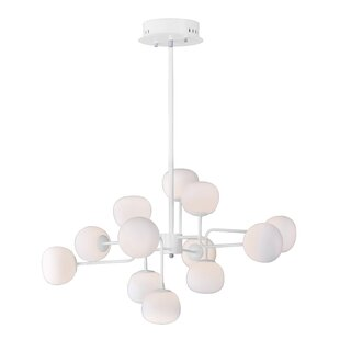Corrigan Studio Edford 12-Light LED Sputnik Chandelier