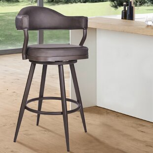 Norwood 26 Swivel Bar Stool George Oliver