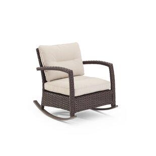 Darby Home Co Fenley Rocking Chair with Cushions