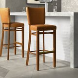 Beechwood Fully Upholstered Seat Bar & Counter Stool by Regal
