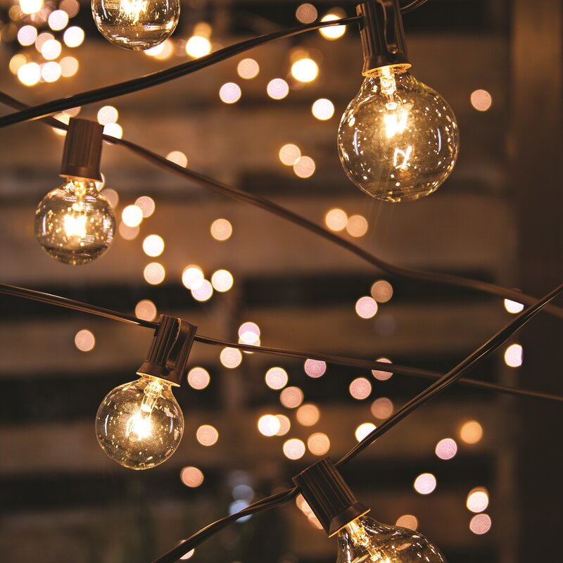 The Gerson Companies 20-Light 19 ft. Globe String Lights & Reviews on