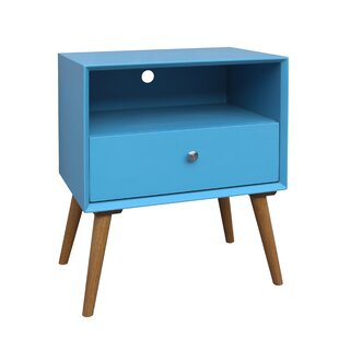 Bivens 1 Drawer Nightstand by Corrigan Studio Best #1