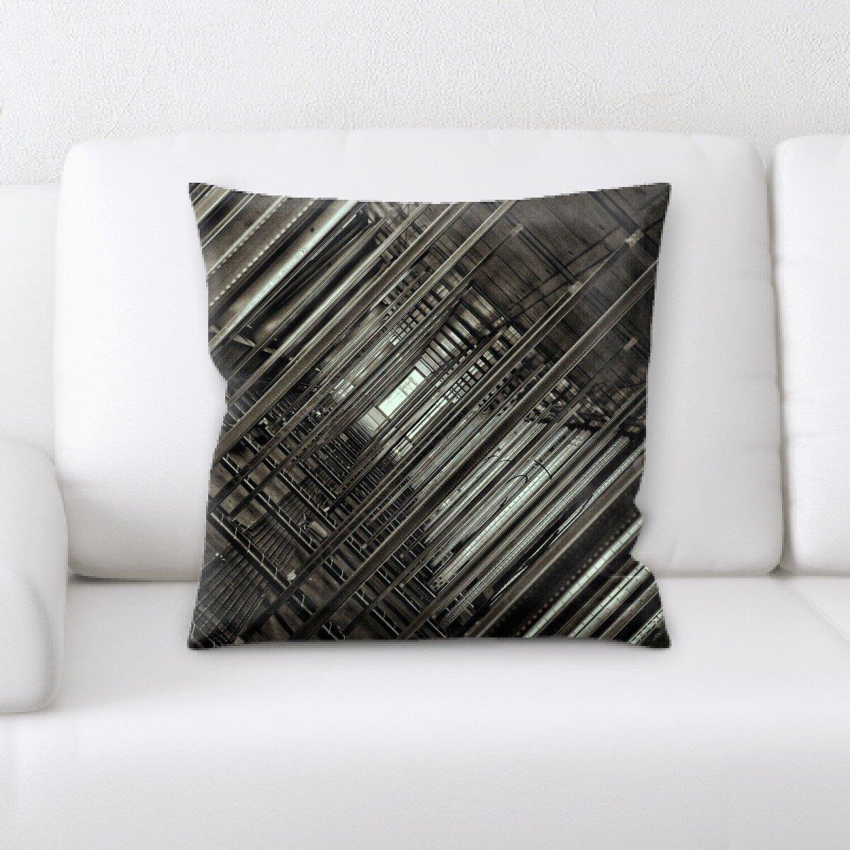 Ebern Designs Langston Throw Pillow Wayfair