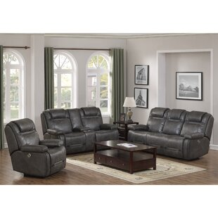 Slayden Reclining 3 Piece Living Room Set by Winston Porter