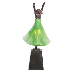 Silhouette Erte Dancer 16 Table Lamp