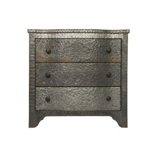 3 Drawer Accent Chest by Noir