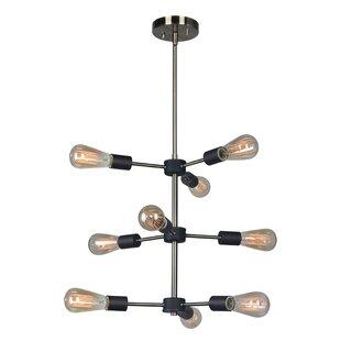 Woodbridge Lighting Ethan 9-Light Sputnik Chandelier