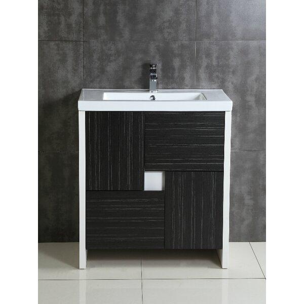 Fine fixtures midland 30 single bathroom vanity set for Bathroom decor midland