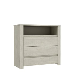 Hopper 3 Drawers Chest By Gracie Oaks