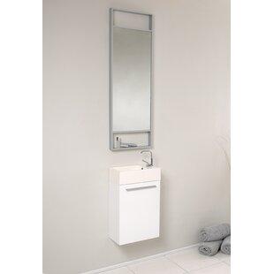 Senza 16 Single Bathroom Vanity Set with Mirror