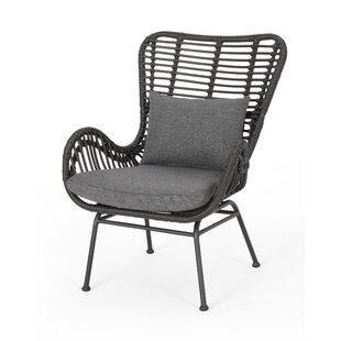 Wondrous Gray Wicker Patio Lounge Chairs Youll Love Wayfair Machost Co Dining Chair Design Ideas Machostcouk