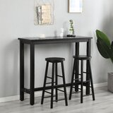 Babu 3 - Piece Counter Height Dining Set by Red Barrel Studio®