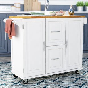 Lomas Kitchen Island Red Barrel Studio